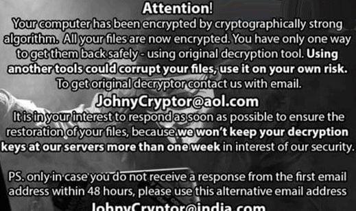 JohnyCryptor-ransomware-virus